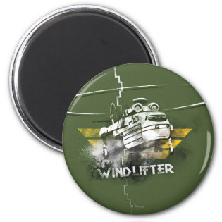 Windlifter Graphic Refrigerator Magnet