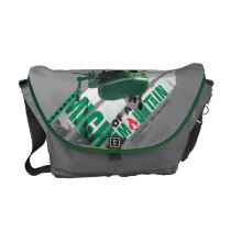 Windlifter Might Of A Mountain Courier Bag at Zazzle