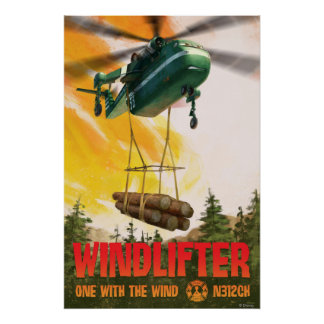 Windlifter - One With The Wind Poster