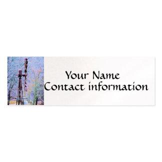 Windmill 2 business card template