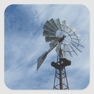windmill_#2 square sticker