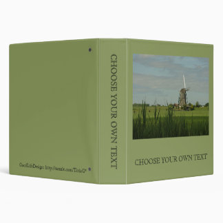 Windmill #5 binder