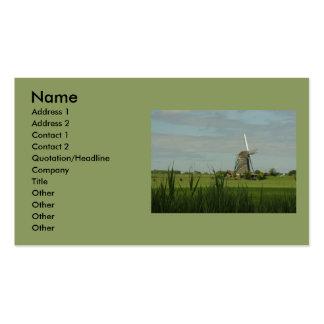 Windmill #5 business card