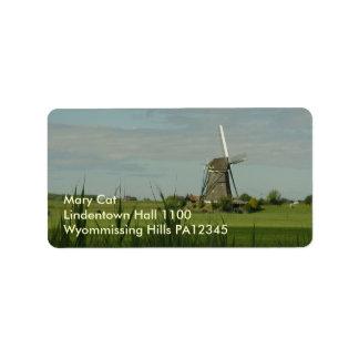 Windmill #5 label