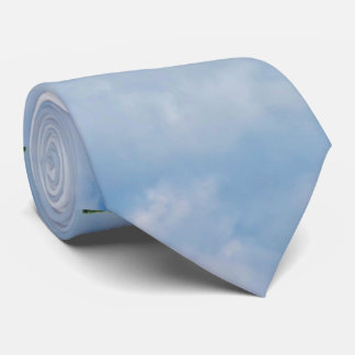 Windmill against Sky Neck Tie