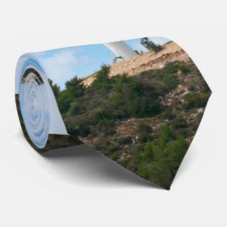 Windmill against Sky Tie