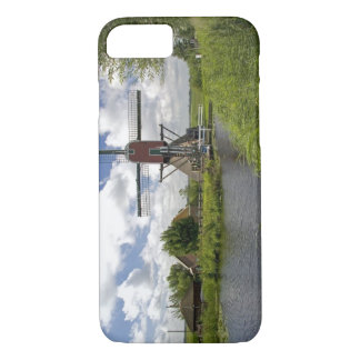 Windmill along a canal east of Leiden in the iPhone 8/7 Case
