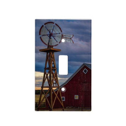 Barn Light Covers: Windmill And Barn Light Switch Light Switch Cover