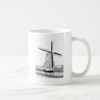Windmill and Boat Mug