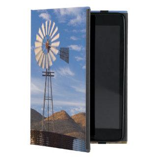 Windmill And Dam In The Karoo At Sunrise iPad Mini Covers