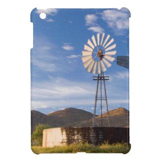 Windmill And Dam In The Karoo At Sunrise iPad Mini Case