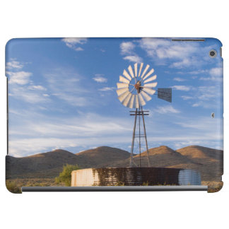 Windmill And Dam In The Karoo At Sunrise iPad Air Cover