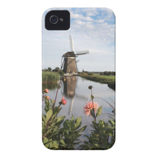 Windmill and flowers in the Netherlands cover iPho