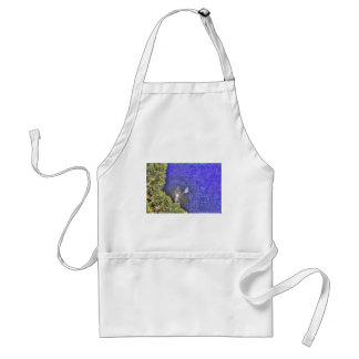 WINDMILL AND FULL MOON AUSTRALIA WITH ART EFFECTS ADULT APRON