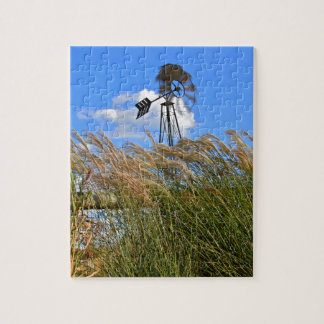 Windmill and grasses puzzles