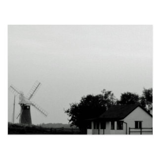"""""""Windmill and house"""" postcards"""