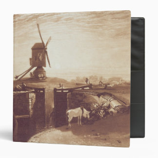 Windmill and Lock, engraved by William Say (1768-1 Binder
