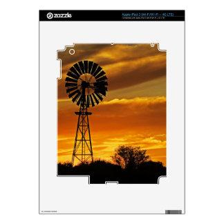 Windmill and Sunset, William Creek, Oodnadatta iPad 3 Decal