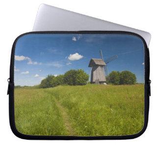 Windmill at Mikhailovskoye Laptop Sleeve
