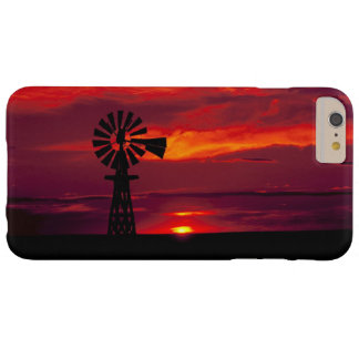 Windmill at sunset barely there iPhone 6 plus case