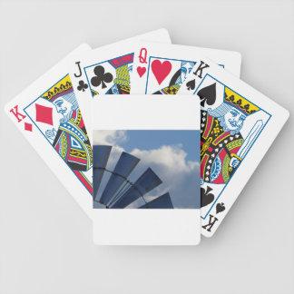WINDMILL BLADES RURAL QUEENSLAND AUSTRALIA DECK OF CARDS