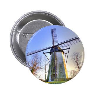 Windmill Pinback Buttons