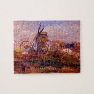 Windmill by Pierre-Auguste Renoir Jigsaw Puzzle