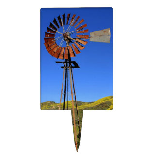 Windmill Cake Toppers