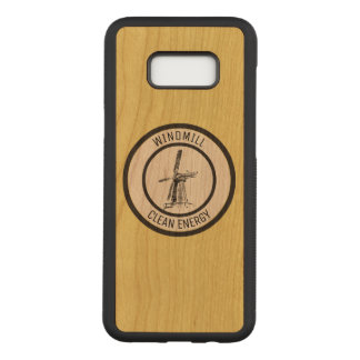 Windmill Carved Samsung Galaxy S8+ Case