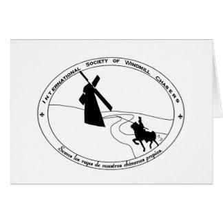 Windmill Chasing Card