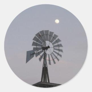Windmill Classic Round Sticker