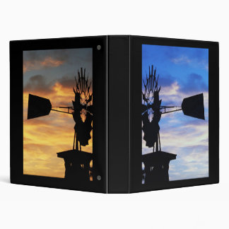 Windmill Days and Nights 3 Ring Binder