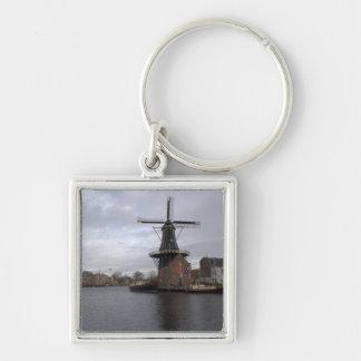 "Windmill ""De Adriaan"", Haarlem Key Chains"