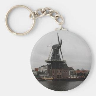 "Windmill ""De Adriaan"", Haarlem Key Chain"