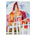 Windmill Farm Blank Card