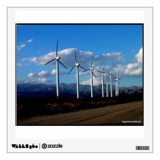 Windmill Farm Wall Decal