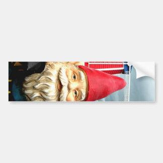 Windmill Gnome Bumper Sticker