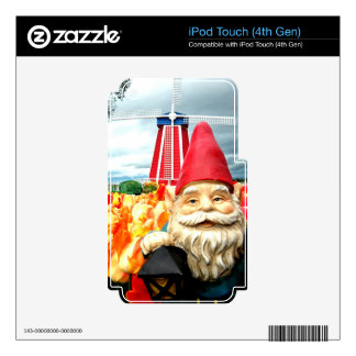 Windmill Gnome Decals For iPod Touch 4G