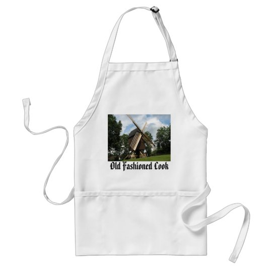 Windmill Gourmet Apron-Old Fashioned Cook Adult Apron