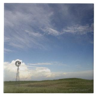 Windmill in Field Tile