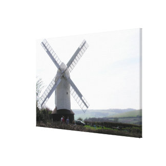 Windmill : Jack & Jill Sussex UK  Photography Canvas Print