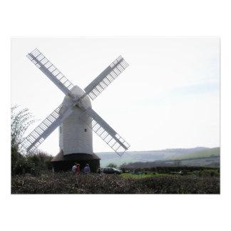 Windmill : Jack & Jill Sussex UK  Print / Photo