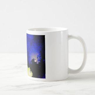 WINDMILL & MOON NIGHT SKY WITH ART EFECTS CLASSIC WHITE COFFEE MUG