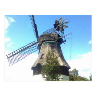 Windmill museum GIF horn Postcard