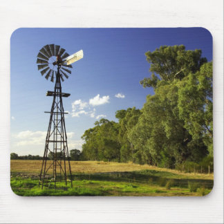 Windmill near Hume Highway, Victoria, Australia Mouse Pad