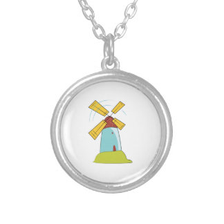 Windmill Personalized Necklace