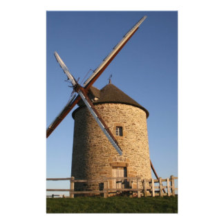 Windmill of Moidrey, Normandy, France Flyer