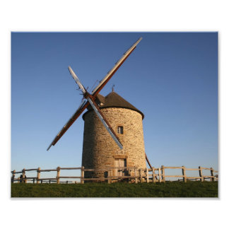 Windmill of Moidrey, Normandy, France Photo