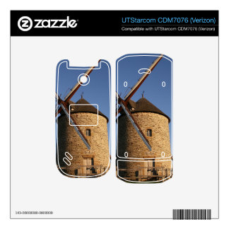 Windmill of Moidrey Normandy France Decal For UTStarcom Phone