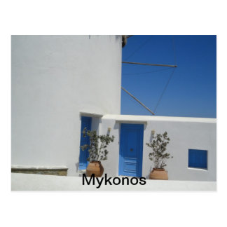 Windmill of Mykonos Post Card